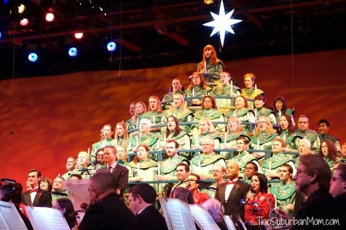 Epcot Candlelight Processional Disney Gary Sinise