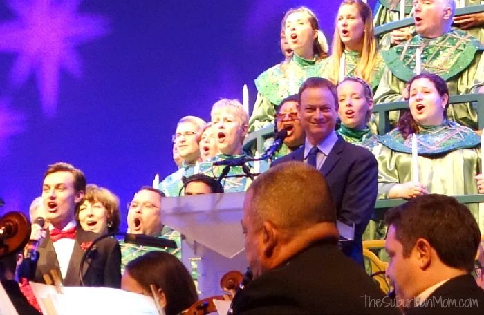Gary Sinise Epcot Candlelight Processional
