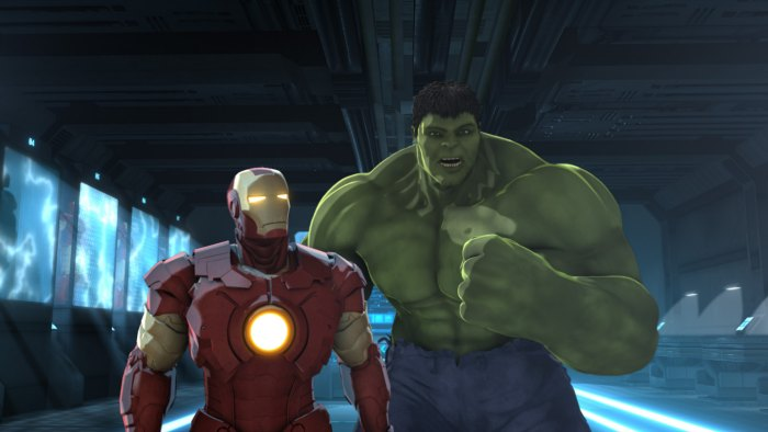 Iron Man Hulk Heroes United Marvel