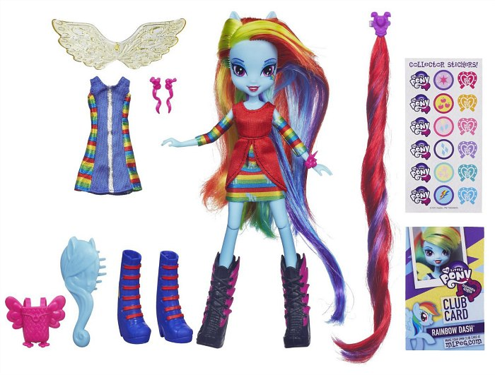 My Little Pony Equestria Girl ~ Rainbow Dash - TheSuburbanMom