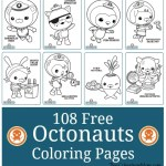 108 Free Octonauts Coloring Printable Pages