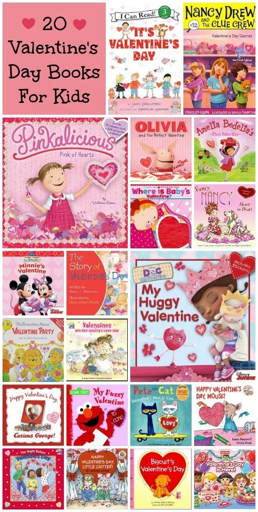 20 Valentine's Day Books Kids