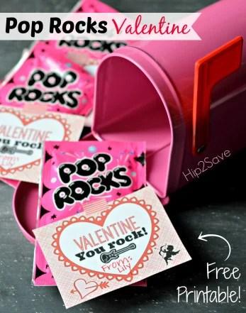 Free Pop Rocks Valentine Printable