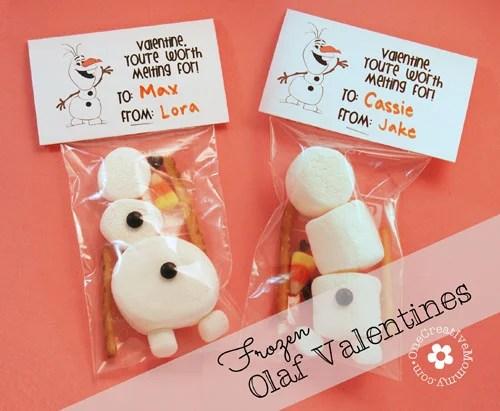 Frozen Olaf Valentines