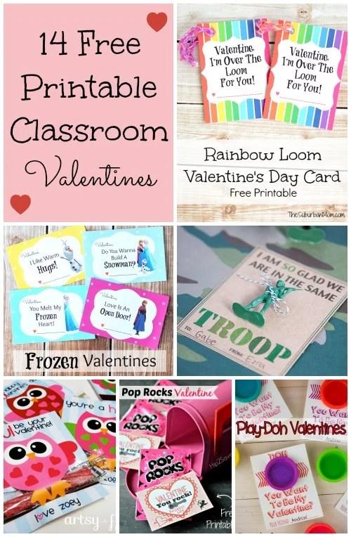 graphic regarding Pop Rocks Valentines Printable named 14 No cost Printable Children Clroom Valentines - TheSuburbanMom