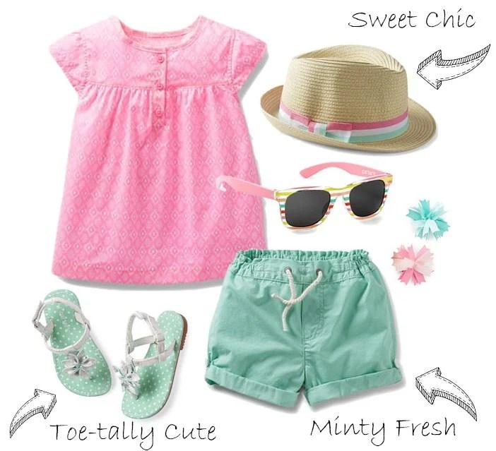 Bubblegum Mint Carters Spring Style