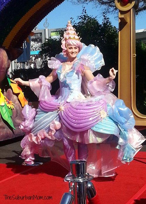 Disney Festival of Fantasy Parade Shell Girl Little Mermaid