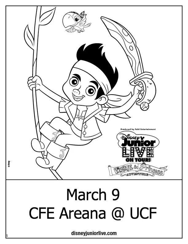 Disney Junior Live Pirate & Princesses At UCF + Free