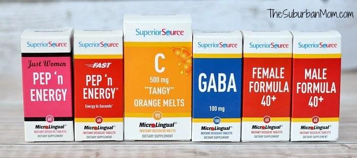 SuperiorSource Vitamins Energy Prize
