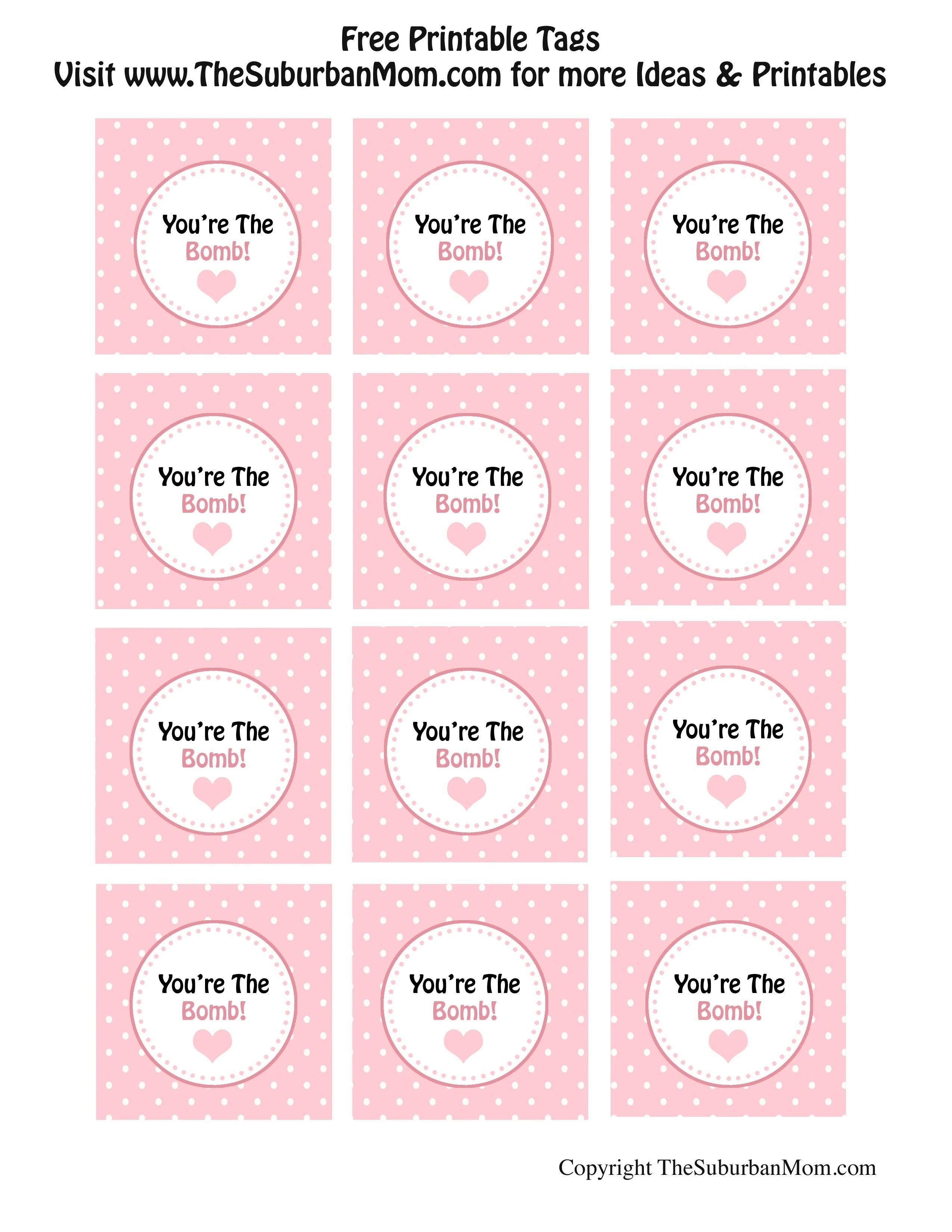 Diy Heart Baths Recipe With Free Tag Printables