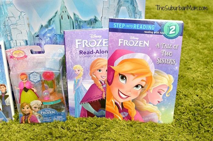 Disney Frozen Sisters Anna Elsa Books