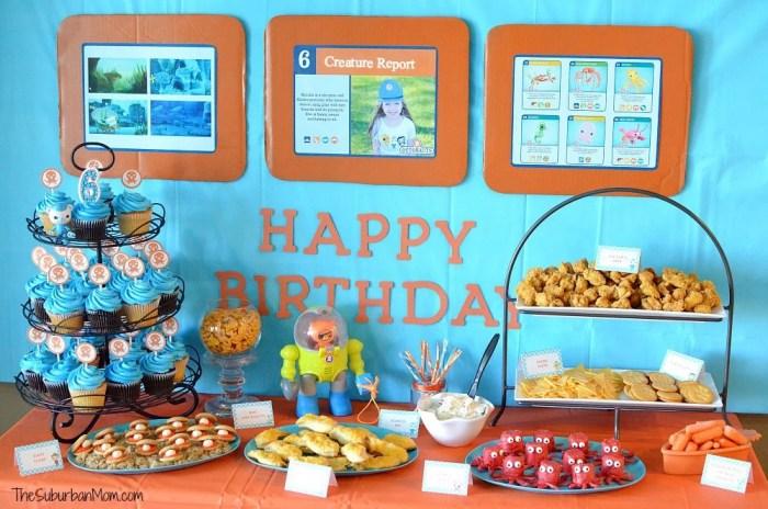 Ocotnauts Birthday Party Decorations