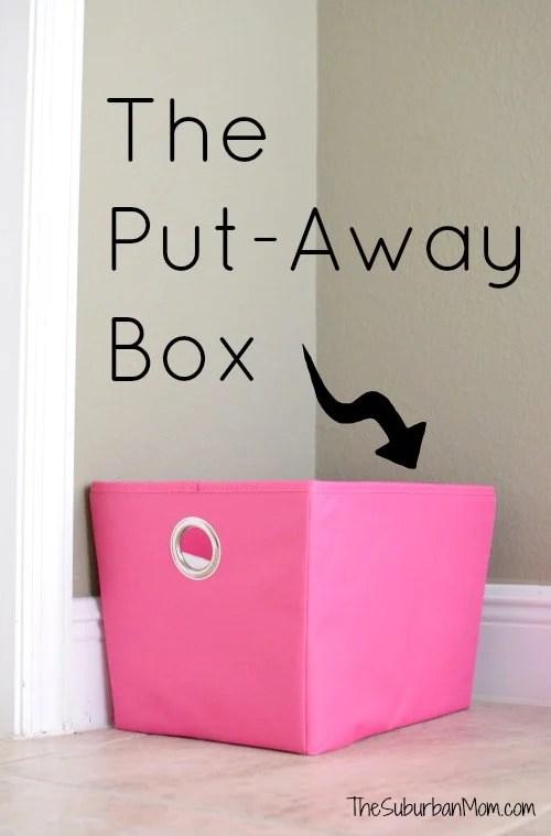 The Put-Away Box