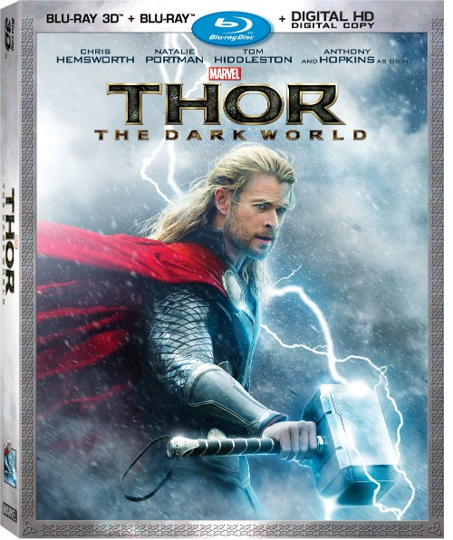 Thor The Dark World Blu-Ray