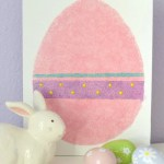 DIY Easter Egg Canvas