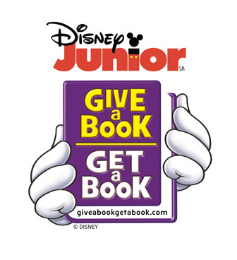 Disney Junior Give A Book Get A Book