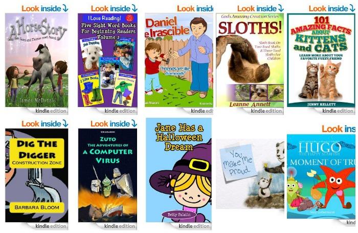 Free Kids Kindle ebooks 4.8
