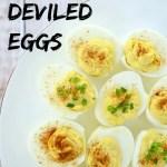 Easy Spicy Deviled Eggs Recipe