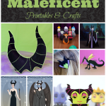 Maleficent Free Printables Crafts Coloring Pages