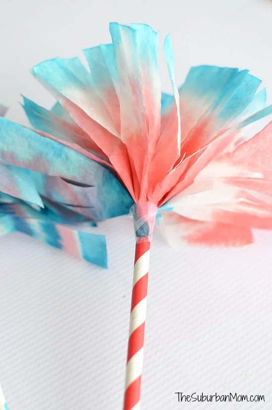4th of July Coffee Filter Craft