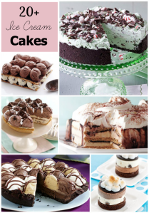 Beautiful Ice Cream Cakes
