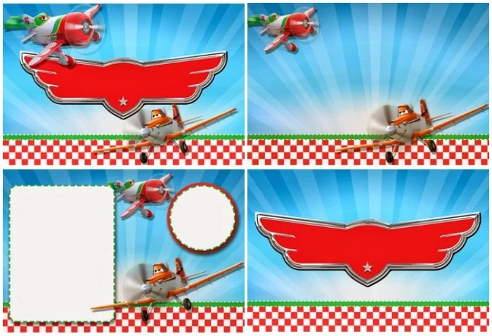 DIY Planes Invitations Signs Free Printable