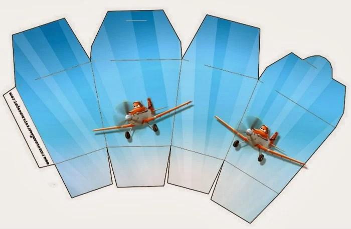 Free Planes Treat Box Printables