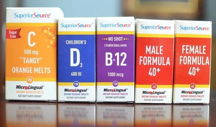 Superior Source Vitamins C D B12