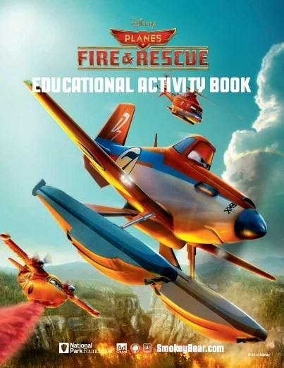 Disney Planes Fire Rescue Free Printable Activity Book