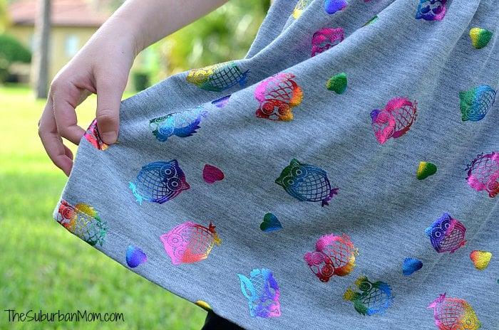 Kohls Rainbow Owl Dress