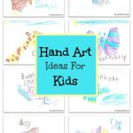 Hand Art Ideas Kids Craft
