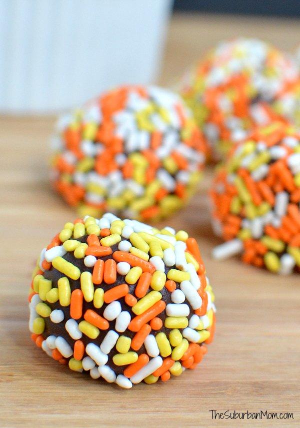 Pumpkin Spice Chocolate Truffles