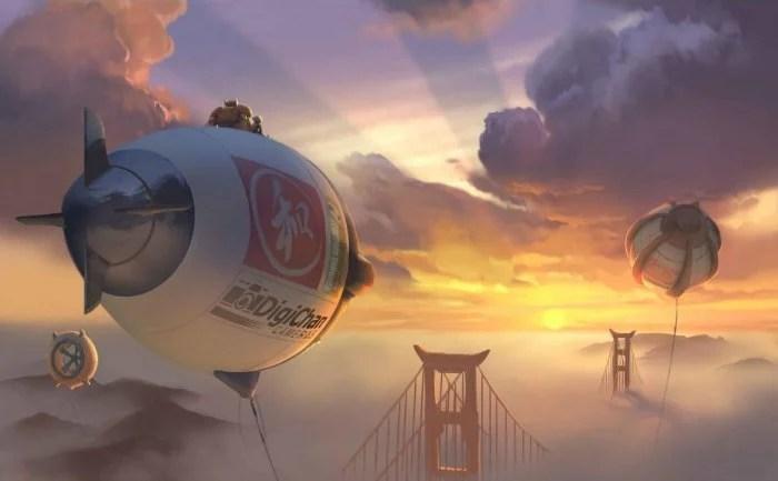 Big Hero 6 Clouds