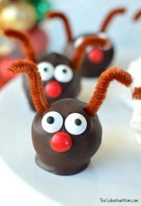 Rudolph Oreo Cookie Ball