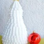 Coffee Filter Christmas Tree Craft