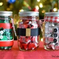 Mason Jar Christmas Gifts + Free Printable Tag