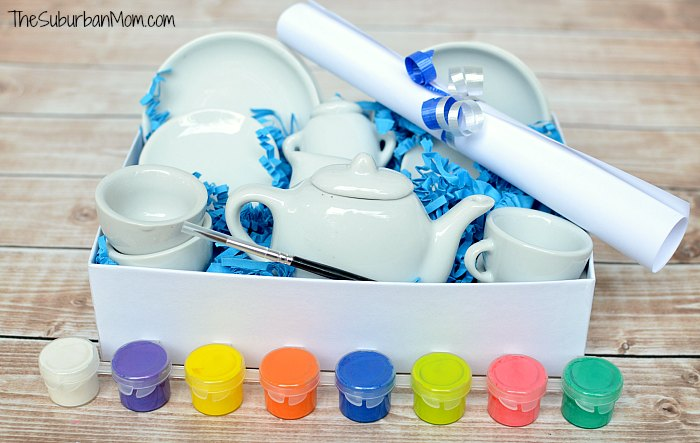 Paint Your Own Tea Set Gift