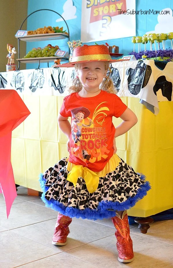 Toy Story Jessie Birthday Outfit