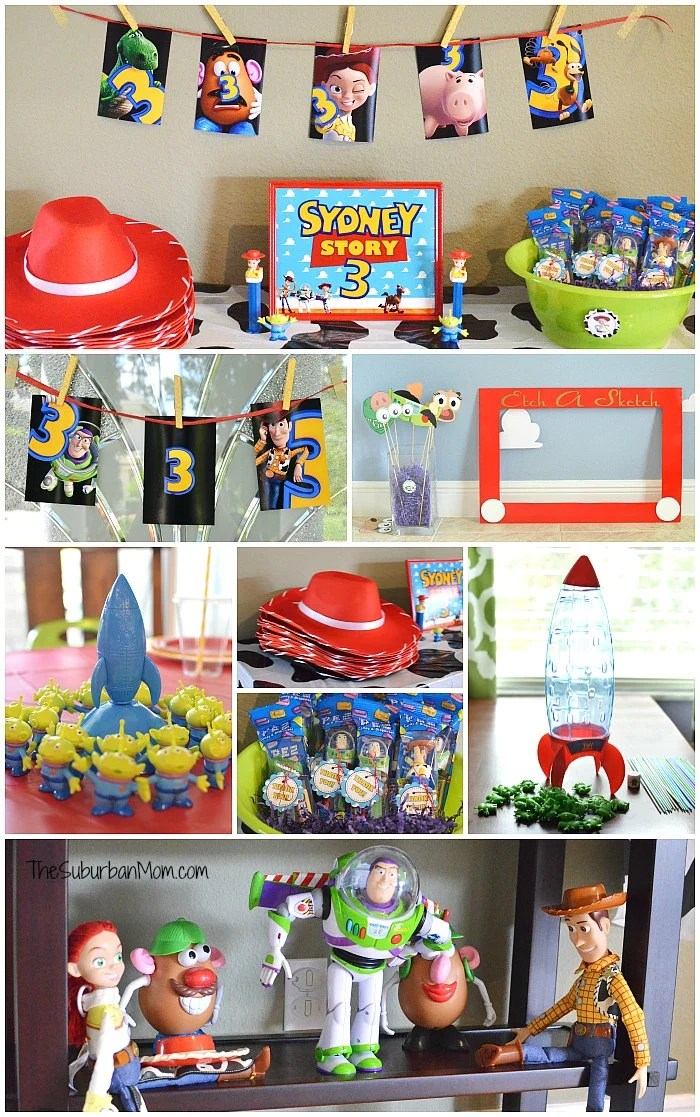 Toy Story Party Favors Decorations