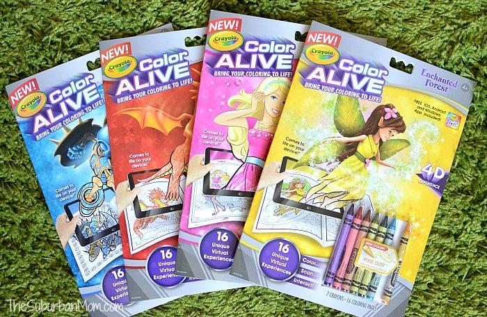 Crayola Color Alive Review