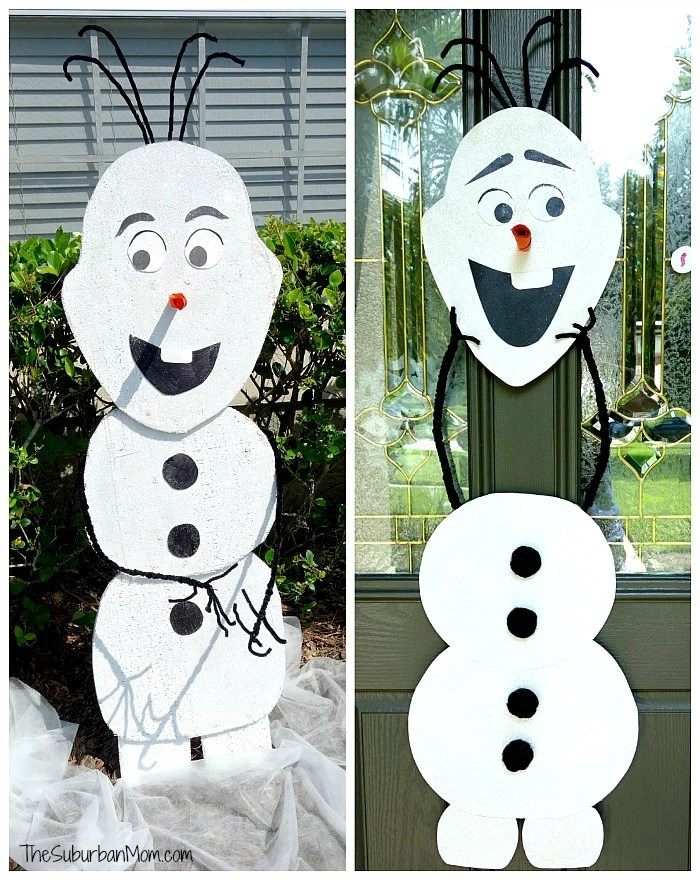 Frozen Olaf Cutout
