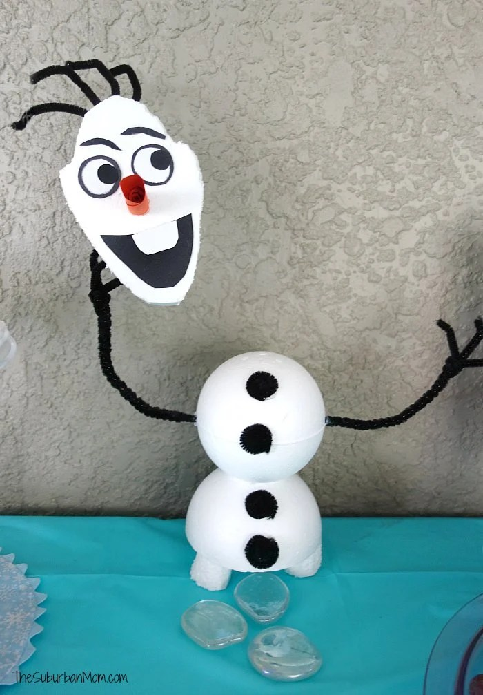 Frozen Olaf Table Decor
