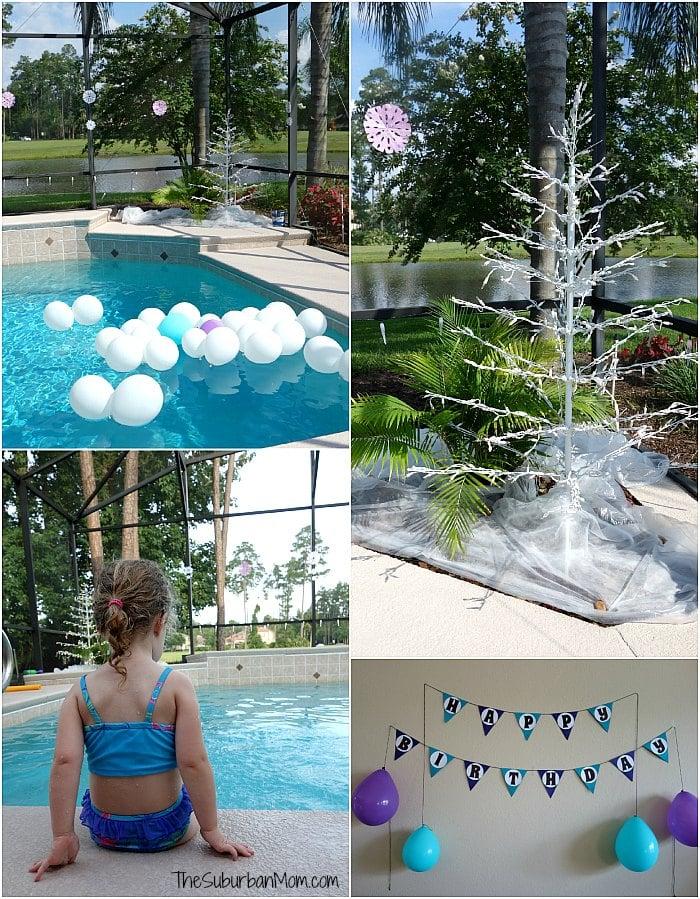 Frozen Summer Birthday Party