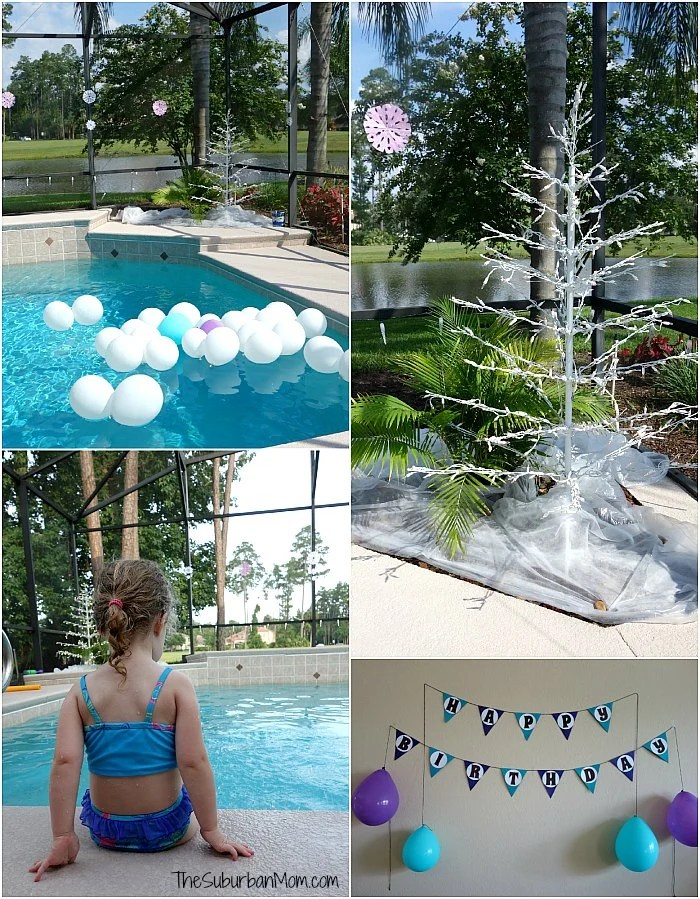 Frozen Summer Birthday Party