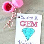 Kids Valentines Cards: You're A Gem (Printable)