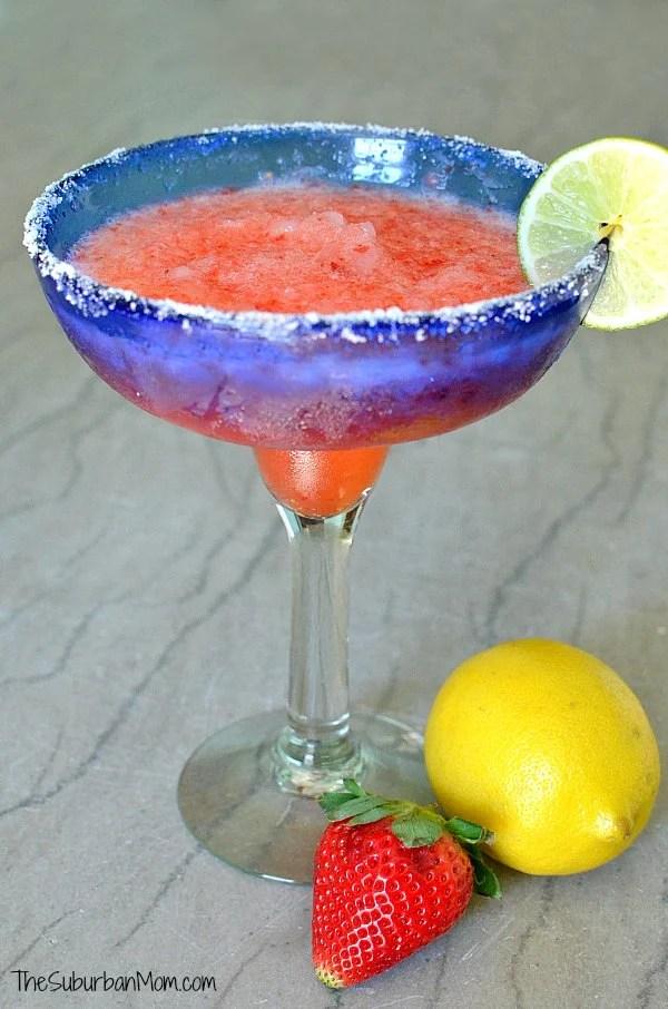 Strawberry Lemonade Margarita Recipe