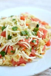 Easy Bruschetta Chicken Dinner