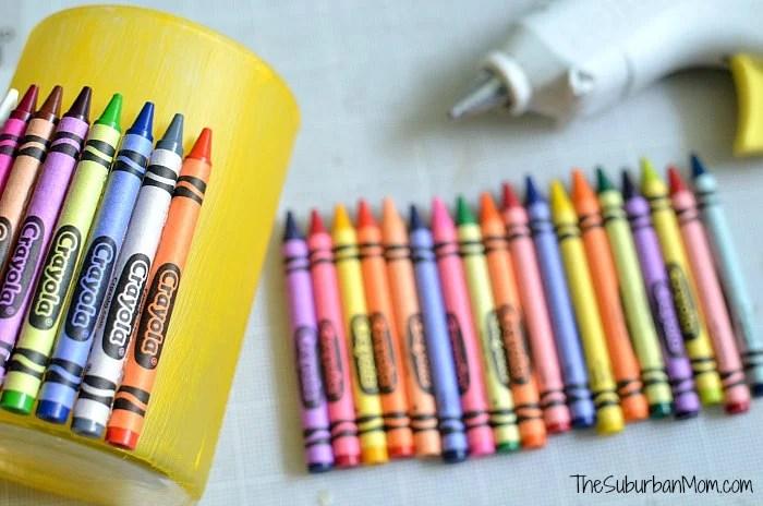 Crayon Vase Tutorial