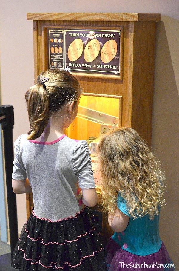 Disney Penny Press Machine
