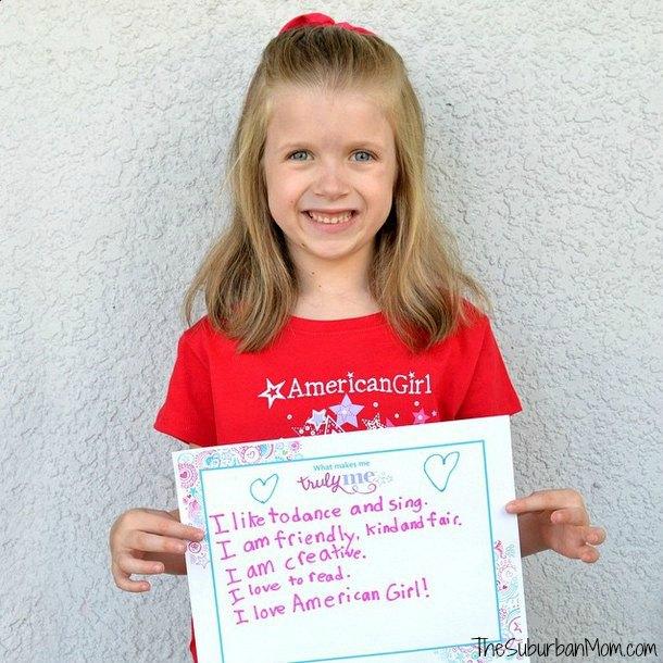 American Girl #TrulyMe